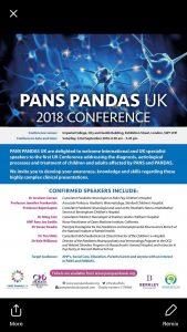 PANS PANDAS Conf. 2018