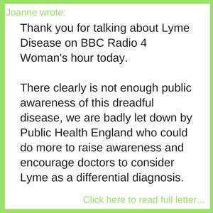 Joanne's Letter
