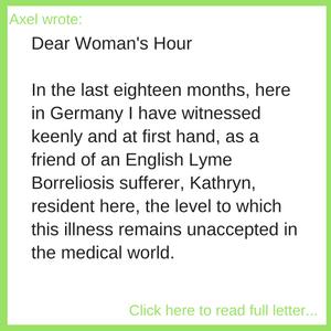 Axel's Letter