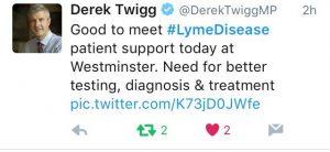 Derek Twigg Tweet