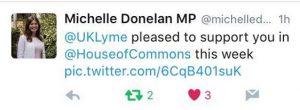 Michelle Donelan tweet
