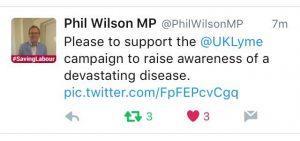 Phil Wilson Tweet