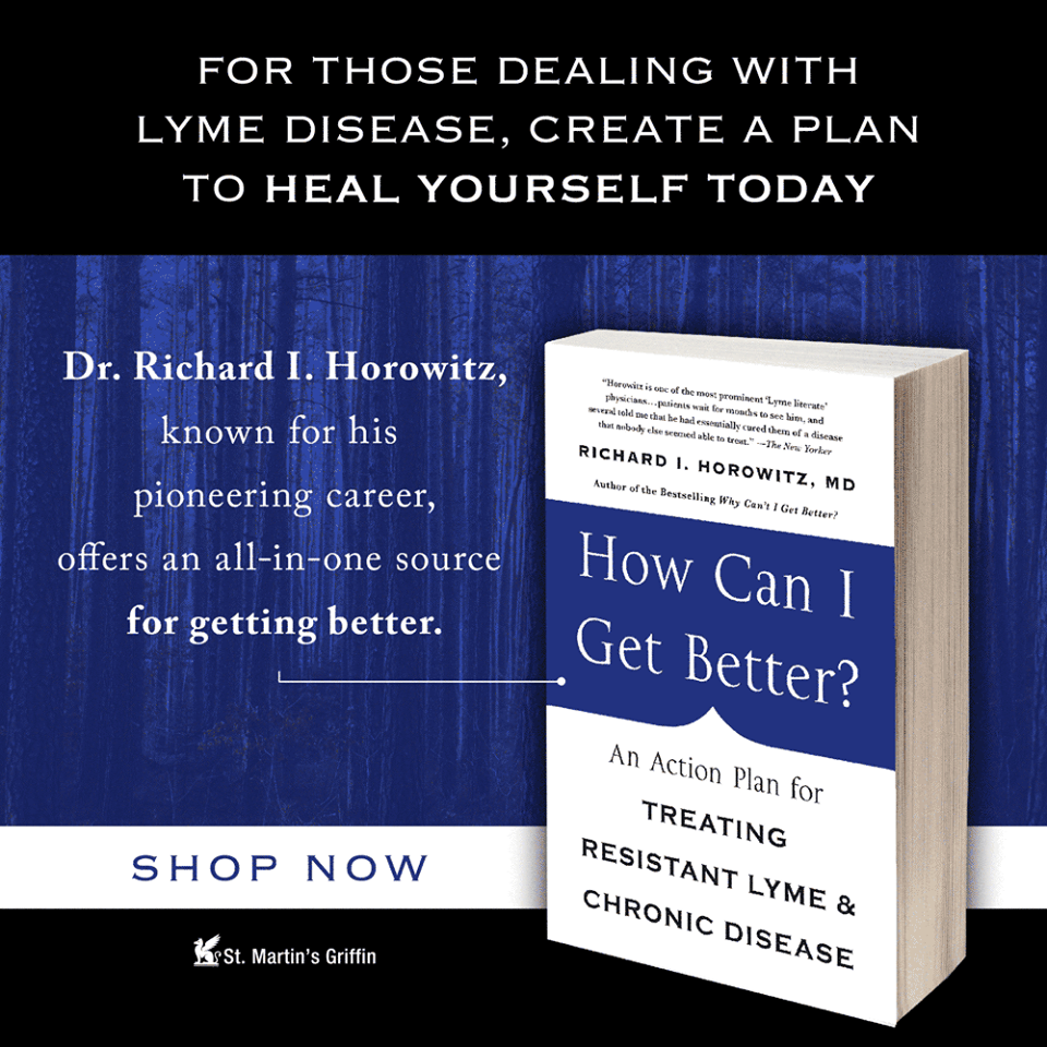 Dr Horowitz How can I get Better Book