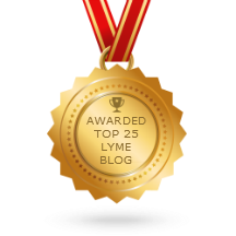 In the top 25 Lyme disease blogs