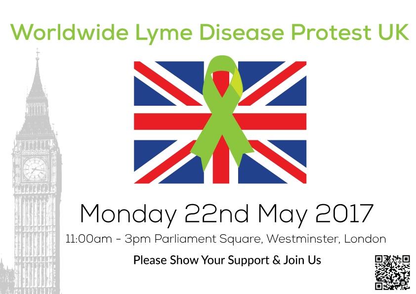 lyme disease protests 2017
