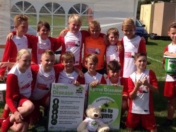 Kestrels FC supporting LDUK