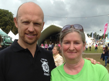 Samantha Ash with Matt Dawson