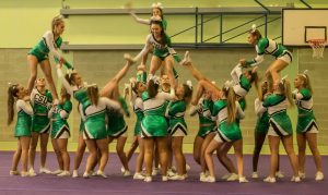 QM Cheerleading event