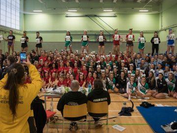 QM Cheerleading event
